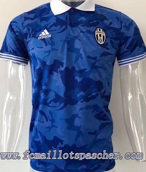 Nouveau Polo Juventus Bleu 2017/2018 Replica