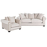 Chic Combo - Linden Sofa & Chair - Buckwheat