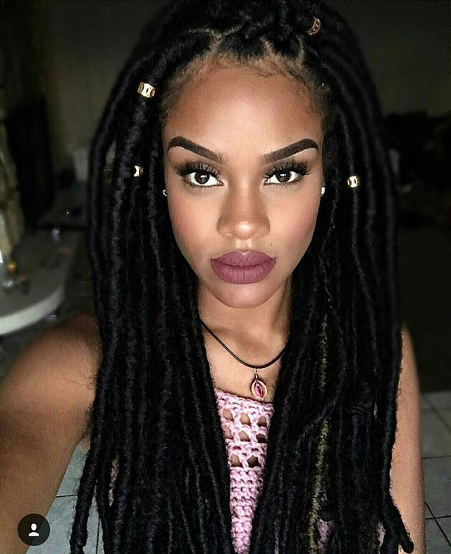 She is Gorgeous - Natural hairstyles http://www.shorthaircutsforblackwomen.com/black-tea-rinse-for-hair/