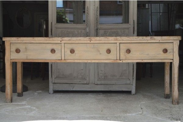 19th Century English Server | Vinterior London  #vintage #antique #design #interiors #home #dinner #rustic #classic