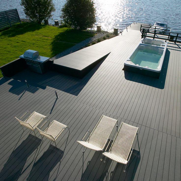 UPM ProFi Deck, Stone Grey, Pori, Finland