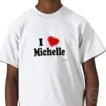 M is voor Michelle Trucker Pet van Zazzle.nl