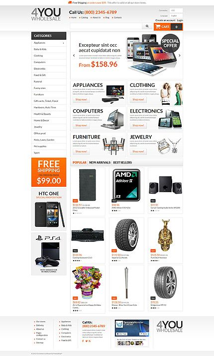 7 best Web Design - Zen Cart Templates images on Pinterest ...