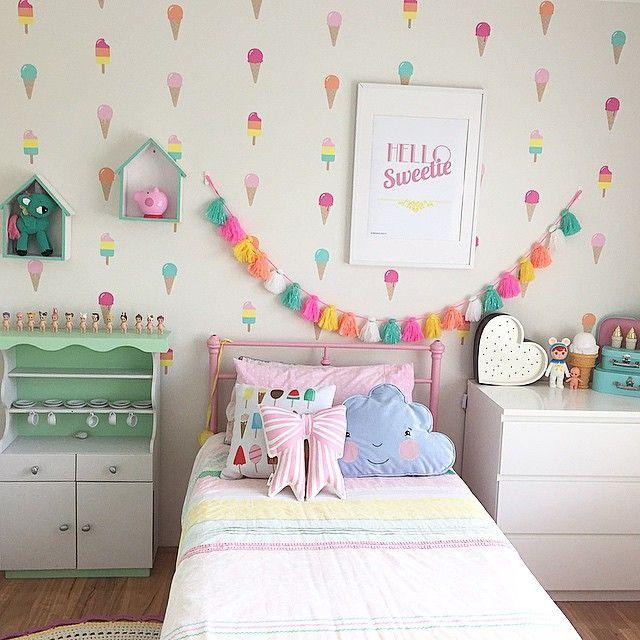 Elegant Ice Cream Room For Eisleyu0027s Big Girl Room