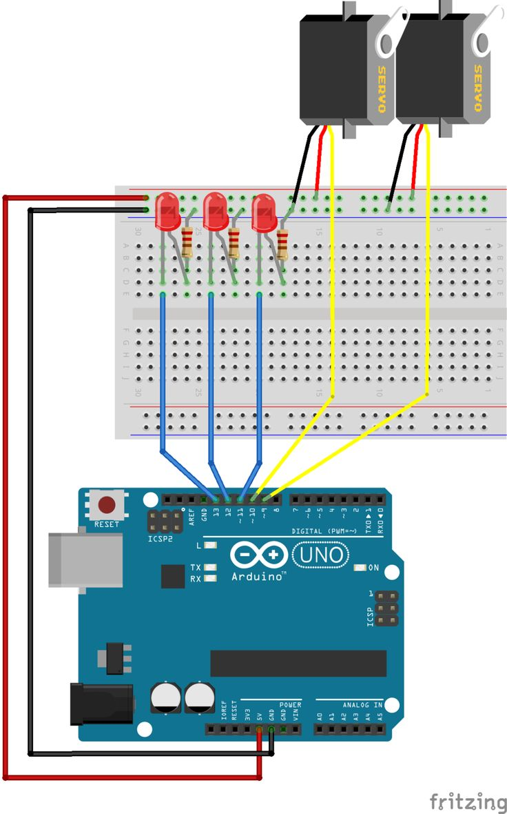 785 Best It Arduino Images On Pinterest Circuit Craft And Homemade 100 Hp Motor Controller For An Electric Car Electronicslab Multi Tasking The Part 1