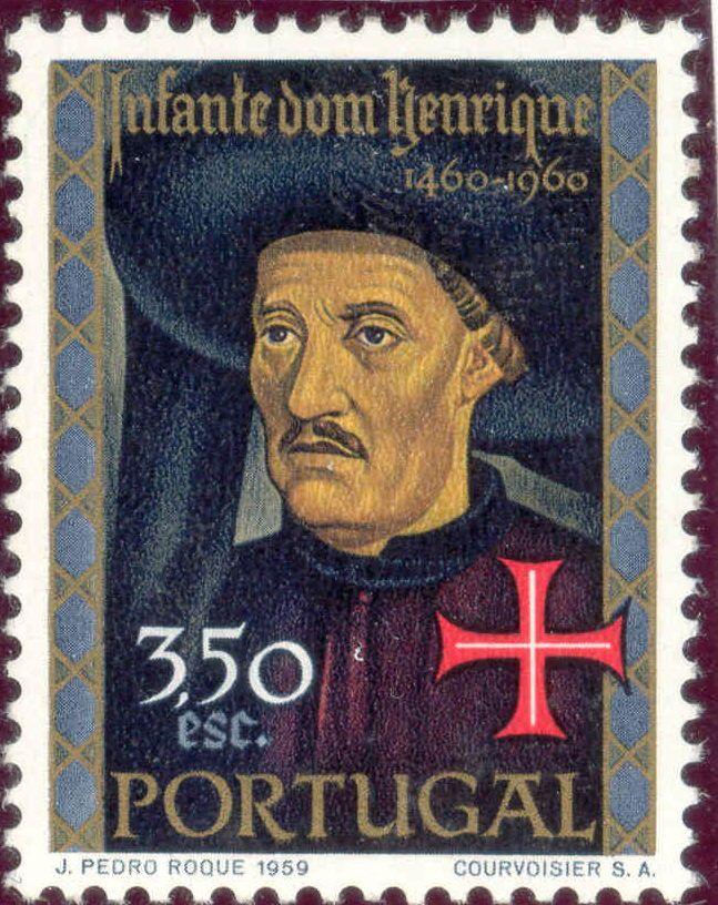 """INFANTE D. HENRIQUE (1394-1460) - """"O Infante Sagres"""" ou """"O Navegador"""" - foi Grão-Mestre da Ordem de Cristo -Templários - . A conquista de Ceuta deu início aos Descobrimentos, de quem foi o grande impulsionador."""