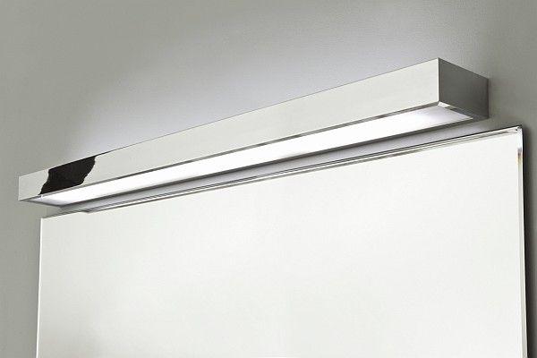 System do montowania oświetlenia na lustrze