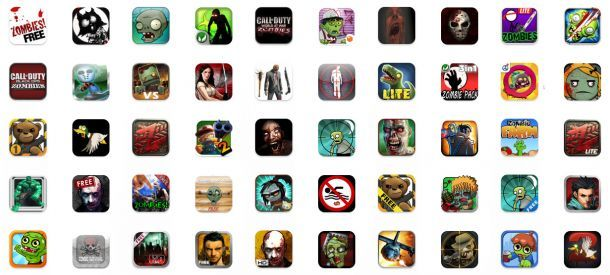 The zombies in your app store...  #mobile #apps #appstore #zombies