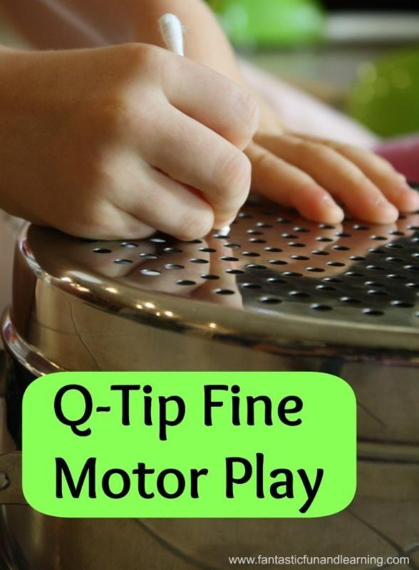 Q-Tip Fine Motor Activity