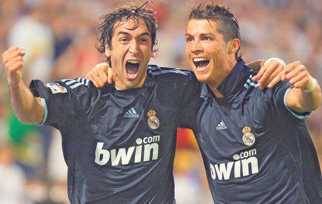 Los 7 magníficos. Raul y Cristiano