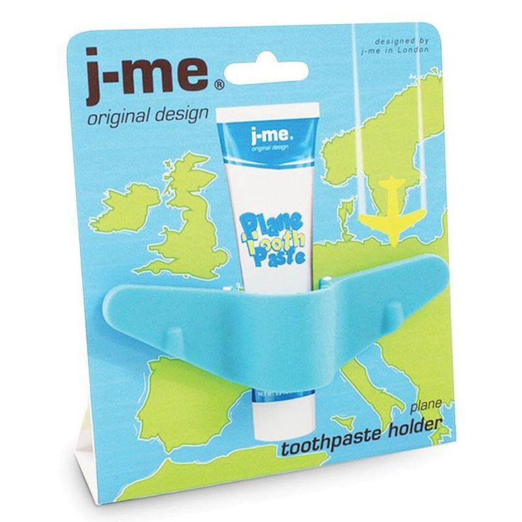 top3 by design - J-Me - plane toothpaste holder blue
