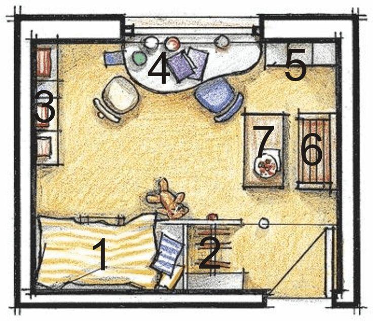 Правила оформления детской комнаты » Для детей и их родителей