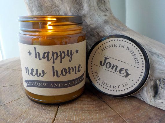 New Home Candle Gift. 9 oz Hand Poured Soy Candle. Completely Handmade in Astoria, Oregon. Comes ready to gift in a lovely gift box. Perfect Anytime Gift! After ordering, please email us at definedesi