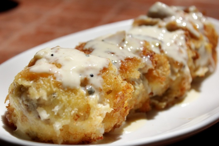 chicken cordon bleu with cream sauce