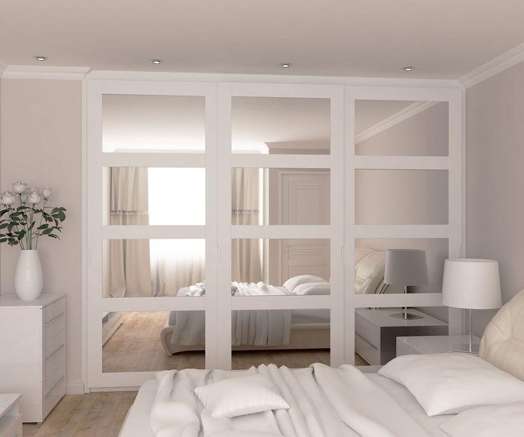 Mirrored Sliding doors wardrobe