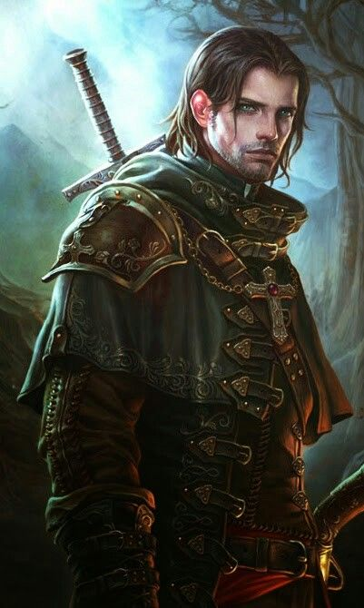 Human Ranger - Pathfinder PFRPG DND D&D d20 fantasy