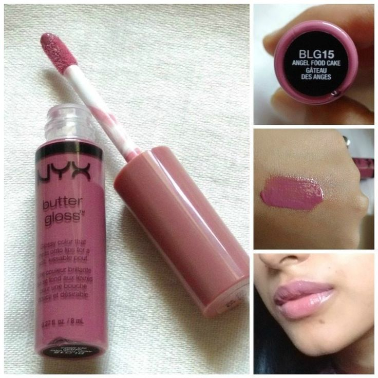 Nyx Professional Makeup Butter Gloss Agel Food Cake