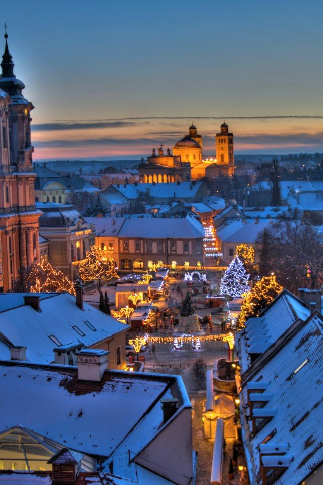 Christmas Fair in Eger #Hungary #xmas