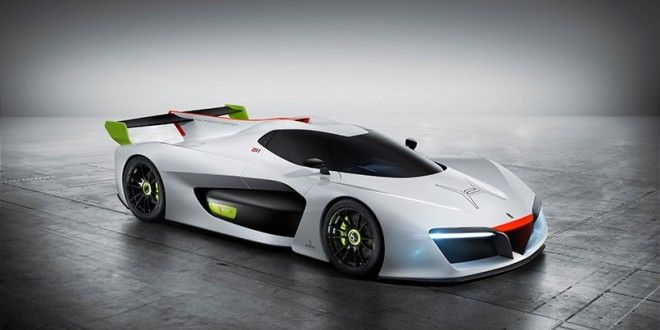 The Pininfarina H2 Speed: World's First Hydrogen High-performance Track Car