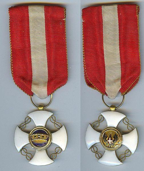 Cavaliere dell'Ordine della Corona d'Italia