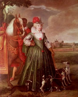 Anne Of Denmark, wife of King James l