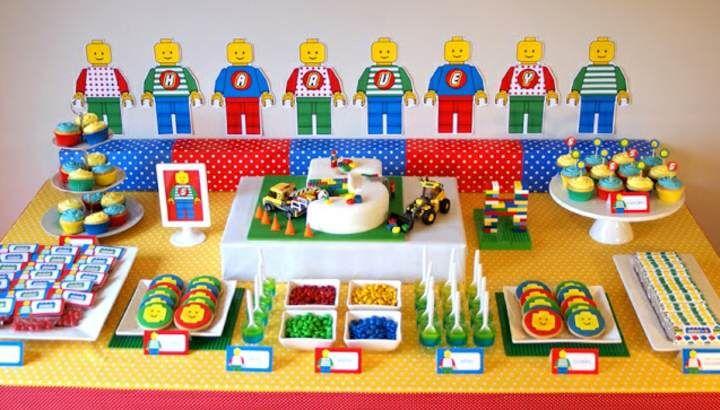 ideas originales para decoracin de fiestas infantiles tema lego ideas cumple jf pinterest decoracin de fiestas infantiles de fiesta y