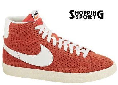 Scarpe Nike Blazer Vintage Alte Gamma Orange Arancioni Tela Canvas A/I 2013  €84.00