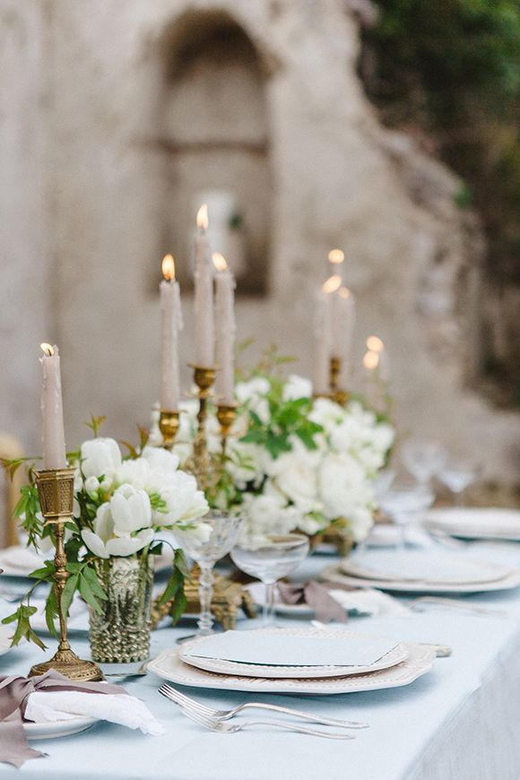 25 Best Ideas About Elegant Table Settings On Pinterest