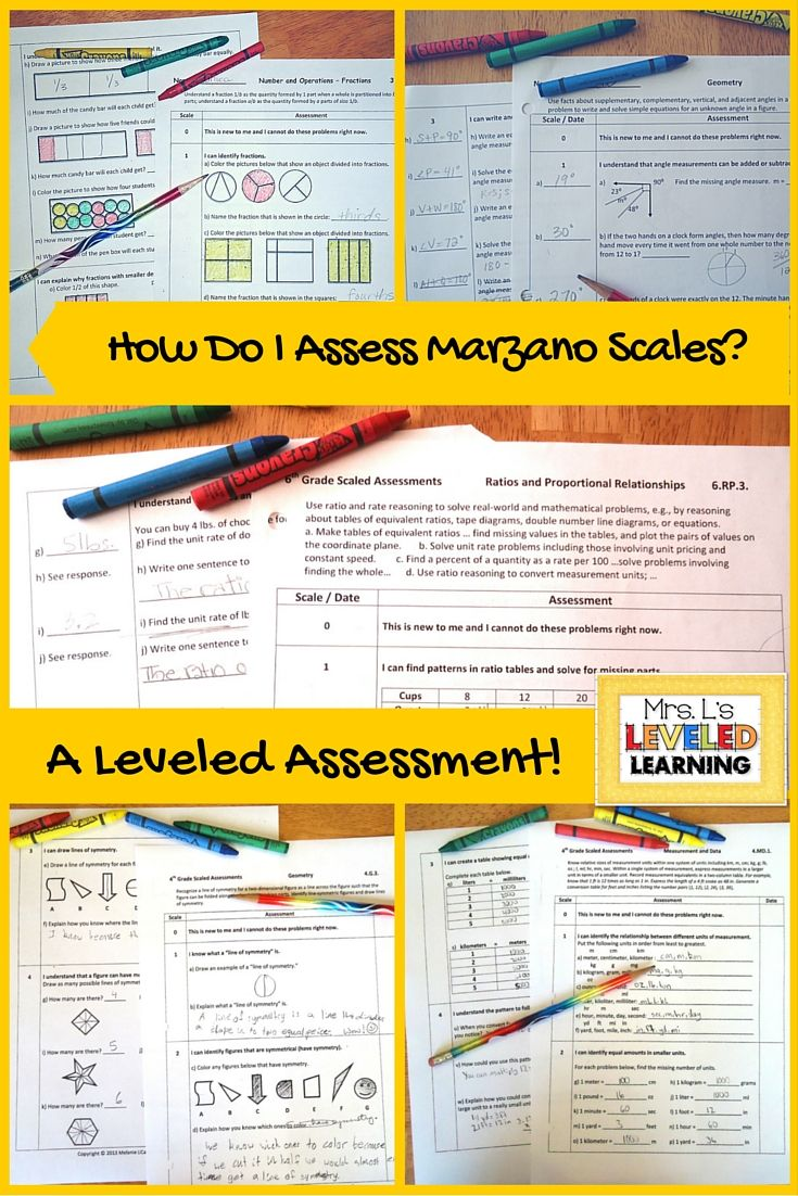 Are you working with Marzano Scales and figuring out how to assess them? This page includes various student work samples with Marzano Scales . I spent time reviewing and reflecting on my students' work. Below you will find a few examples of the 4th-6th grade assessments. Get some ideas for your classroom!