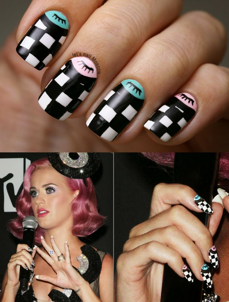 The 15 best Nail art!❤ images on Pinterest   Celebrity nails ...