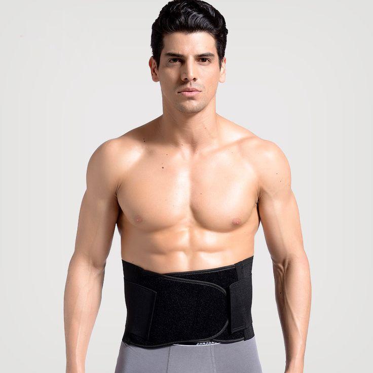 JORZILANO  Neoprene Double Pull Lumbar Support Lower Back Belt Brace Pain Relief Band Waist Posture Corrector Waist Support #Affiliate