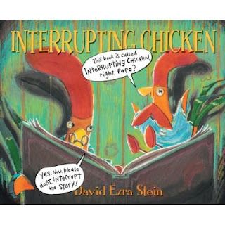 Interrupting Chicken is my new social skills go to for listening, waiting your turn to talk, and learning to raise your hand.