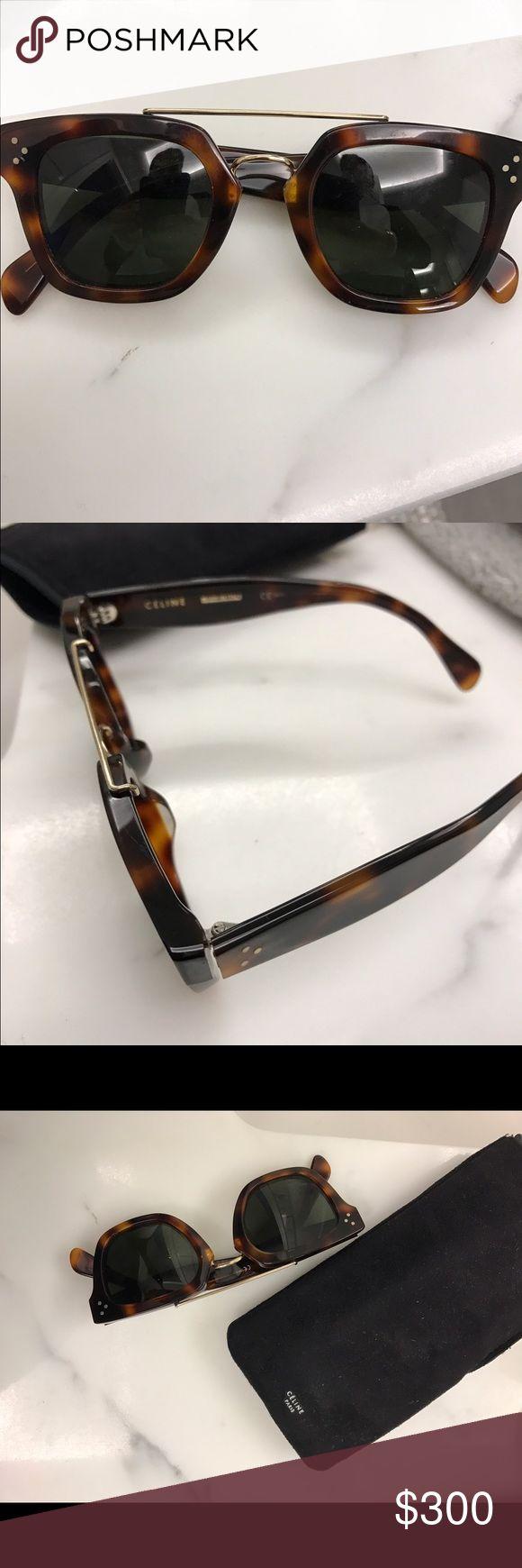 Celine tortoise sunglasses Square framed tortoise sunglasses Celine Celine Accessories Glasses