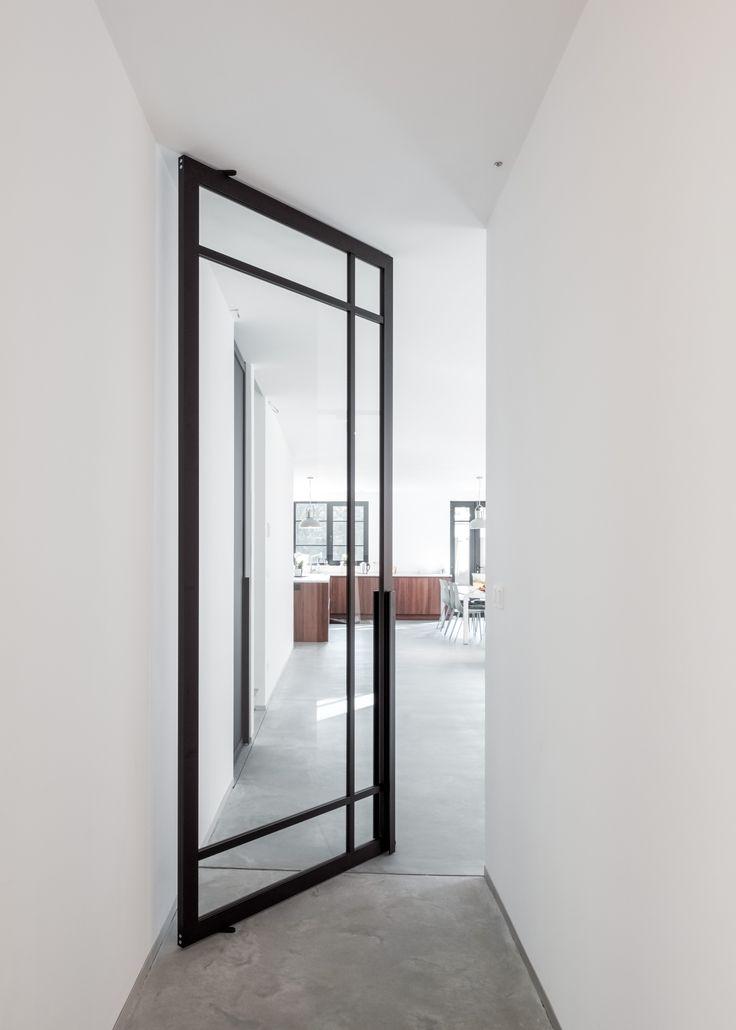 best 25 pivot doors ideas on pinterest houston architecture glass door hinges and doors with. Black Bedroom Furniture Sets. Home Design Ideas