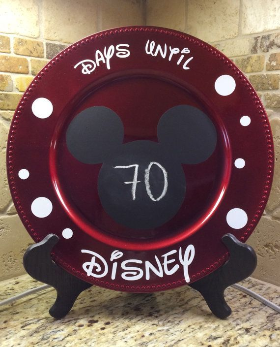 Disney Countdown - Available on Etsy
