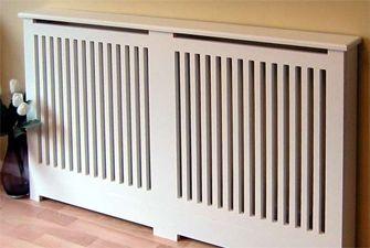 Modern radiator cover