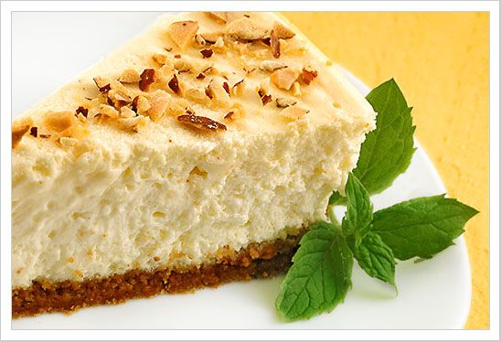 Creamy Amaretto Cheesecake: This delicious, creamy cheesecake is simple to prepare and has a few easy variations to suit your taste.