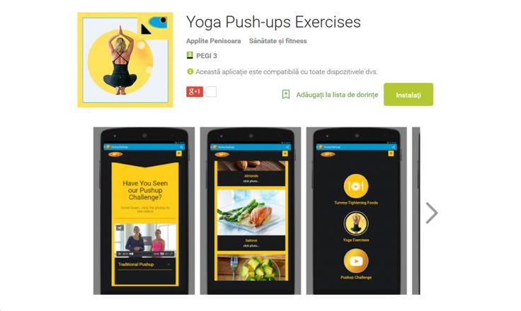 Yoga Push-ups Exercises