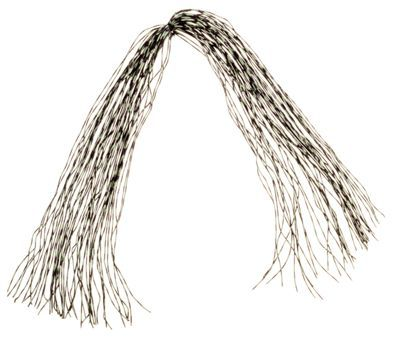 Montana Fly Company Round-Rubber Centipede Legs - Medium - Speckled Olive