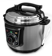 Buy this NutriChef PKPRC15 - Stainless Steel Electric Pressure Cooker and Steamer with deep discounted price online today.