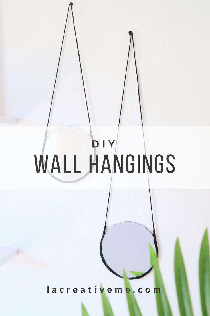 DIY Wall Hangings - La creme