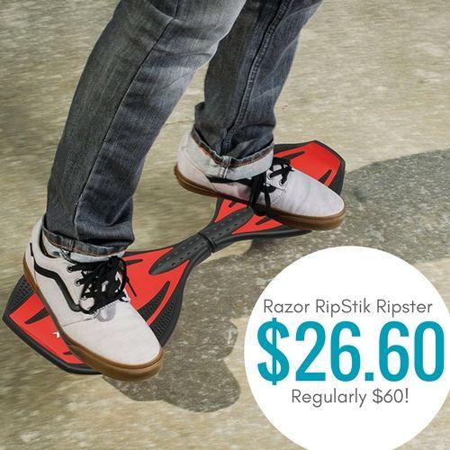 Razor RipStik Ripster Caster Board only $26.60!