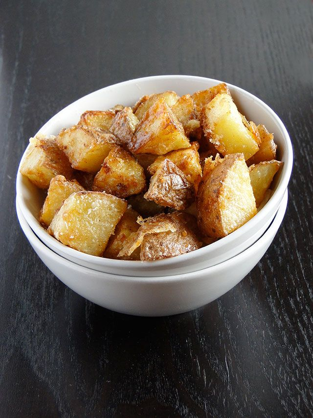 Chicho's Kitchen: Parmesan roasted potatoes