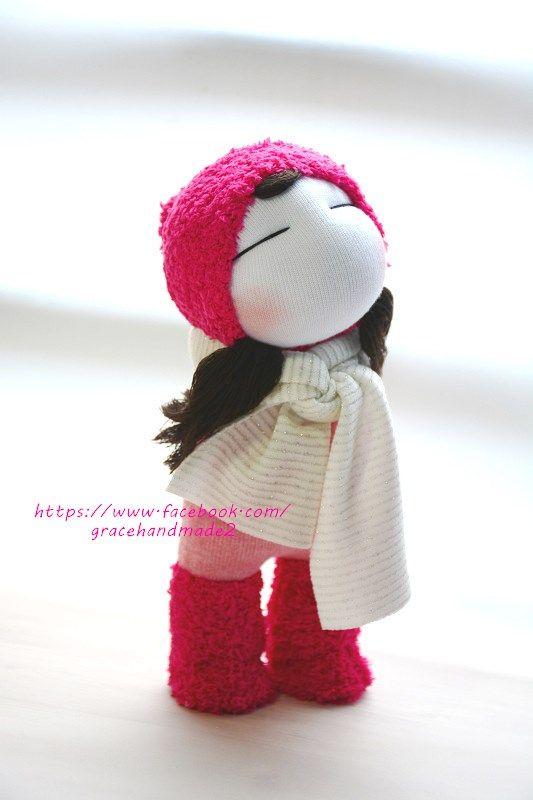 Grace--#395 sock girl