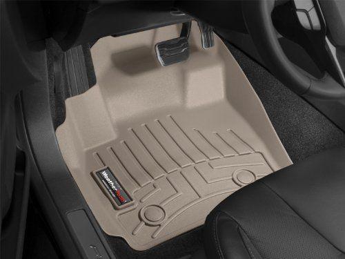 WeatherTech Custom Fit Front FloorLiner <b>for Mercedes-Benz C</b> ...