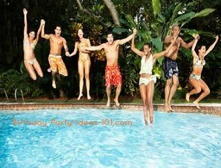 Ideas for a teen pool party