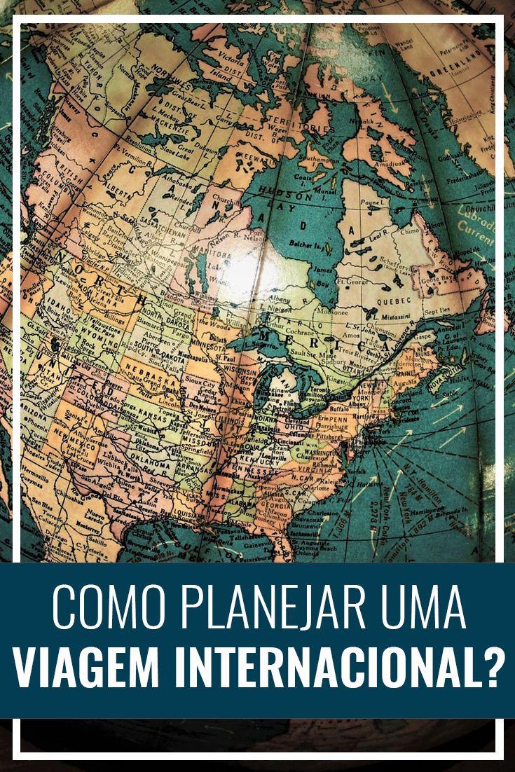 Passo a passo para planejar uma viagem internacional. Viajar para o exterior. Europa, Estados Unidos