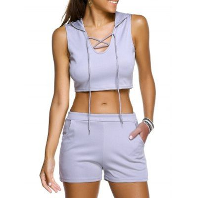 SpecificationsProduct DetailsStyle: Casual Length: Mini Material: Polyester Fit Type: Skinny Waist Type: Mid Closure Type: Elastic Waist Front Style: Flat Pattern Type: Solid Embellishment: Pockets Weight:...