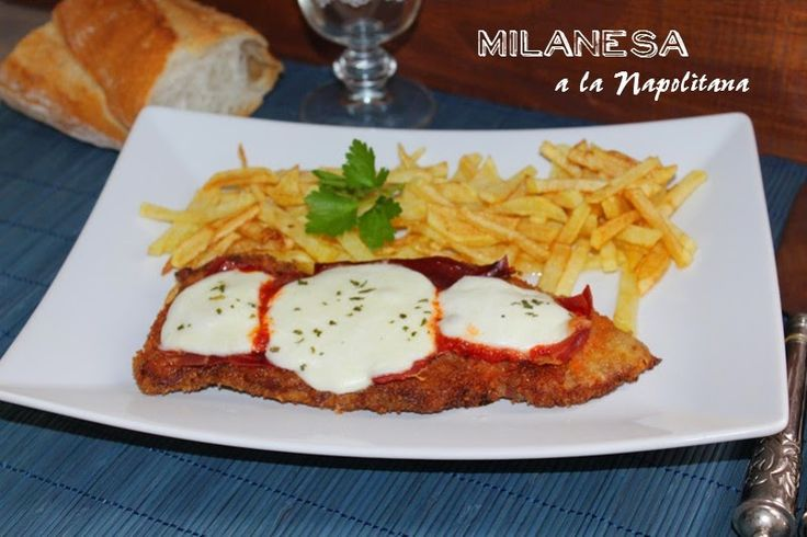 Milanesa a la napolitana