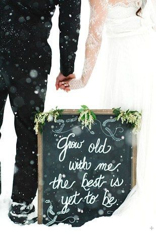 This close-knit couple: | 38 Couples Who Absolutely Nailed Their Winter Wedding